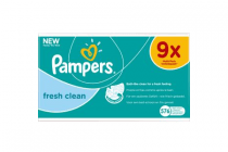 pampers fresh clean 9x64 stuks