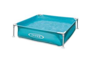 Intex zwembad voor 54 95 for Vierkant zwembad met pomp
