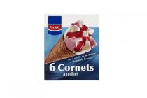 cornets aardbei