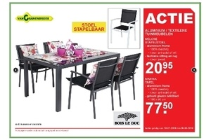 bois le duc aluminium textilene tuinmeubelen vanaf 20 95. Black Bedroom Furniture Sets. Home Design Ideas