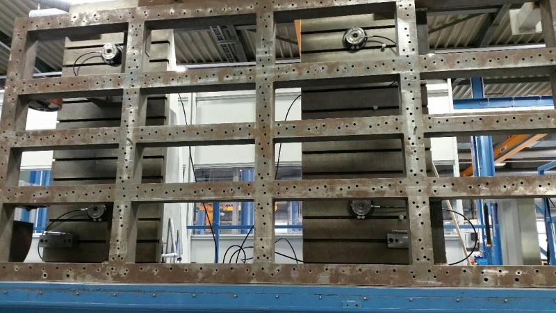 nulpuntspannen horizontale machine groot werk