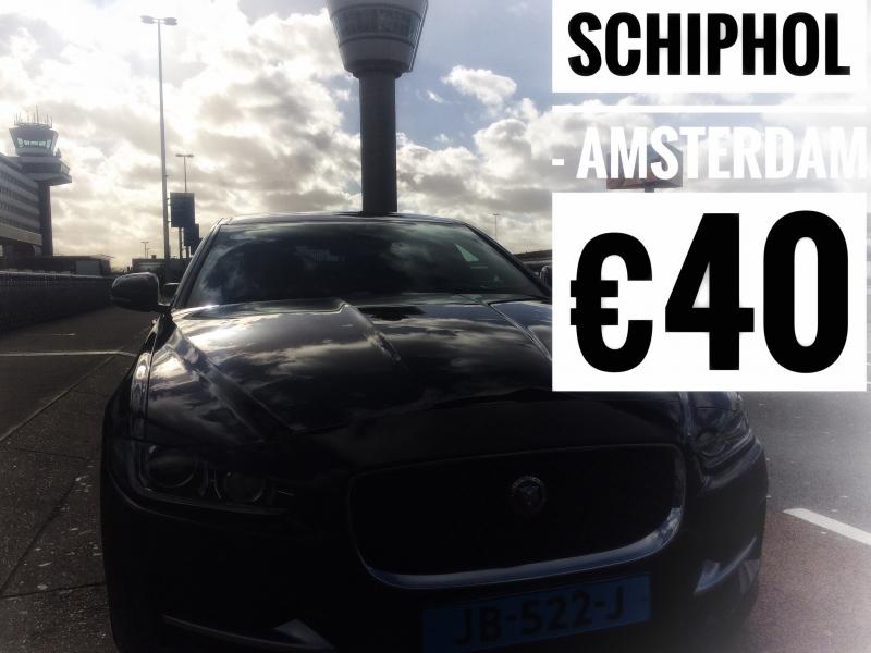 Schiphol to Amsterdam €40