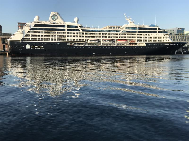 Cruise poort Amsterdam