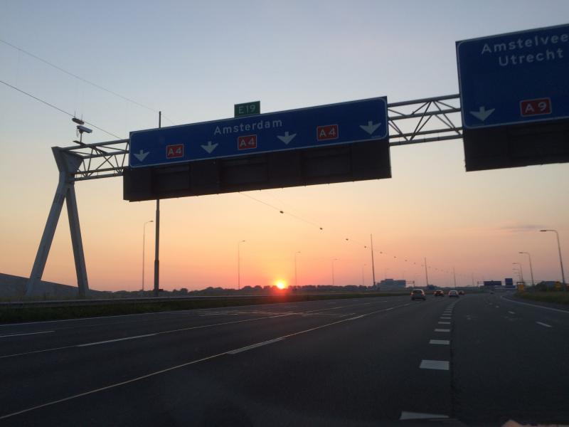 Veilig tussen grote steden rijden