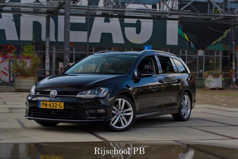 Wil jij met deze luxe trainingsauto het verkeer in en rij-examen doen?