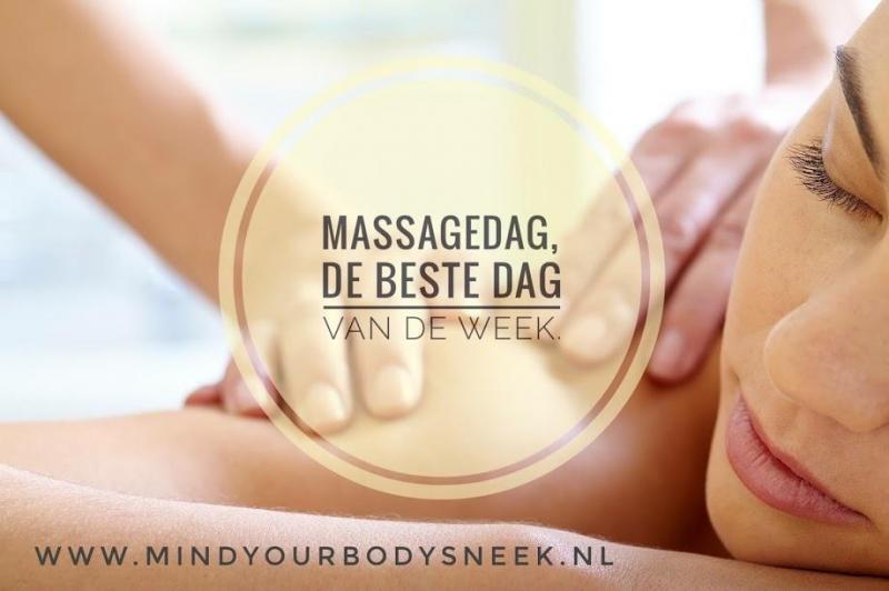 Massagedag de beste dag van de week.
