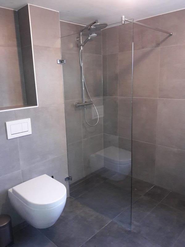Eind resultaat badkamer in emmen