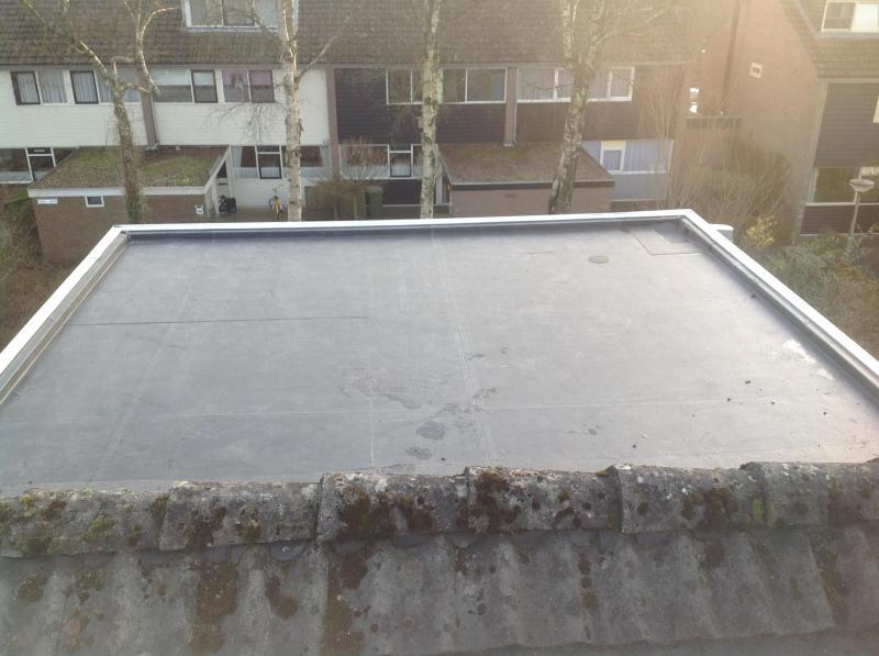 Nieuwe epdm dak emmen