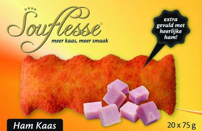 Ham-kaassouffle van Souflesse