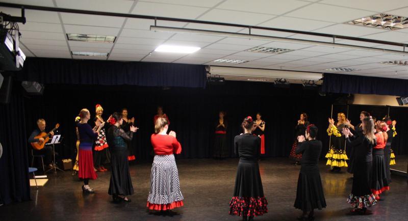Flamenco kerstfeest in Hengelo, 7 december 2019