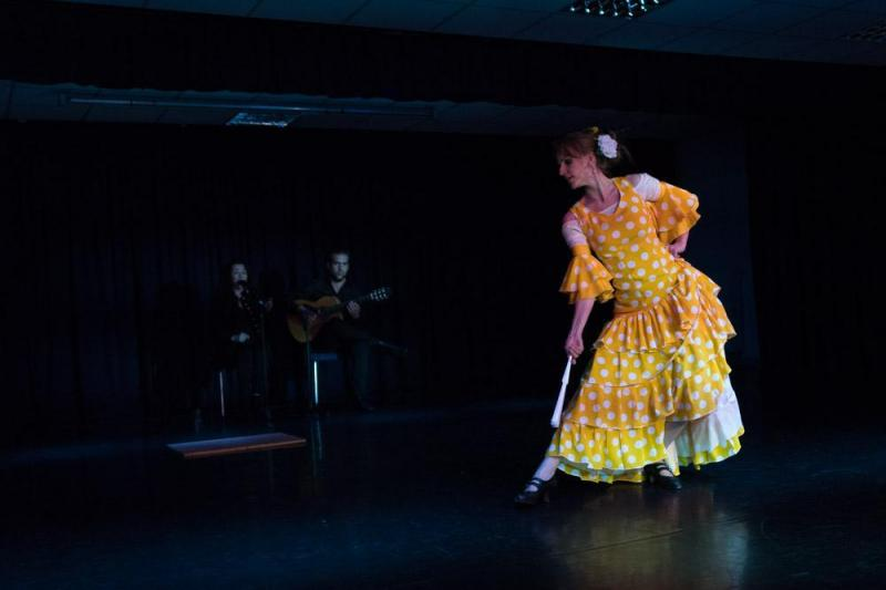 Optreden samen met Flor de Lis