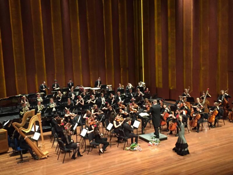 Optreden 20 maart met  Artez Conservatorium Symphony Orkest