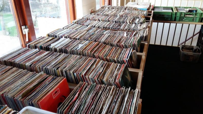 een groot aanbod in Elpees, singles, cd's, dvd's, video's en pc spellen