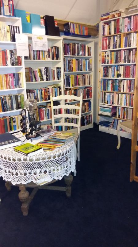 Boeken, romans, wetenschap, kunst, oorlog, stripboeken etc.