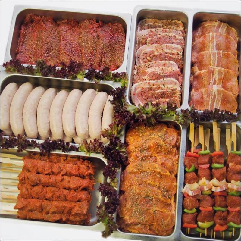 Barbecue assortiment