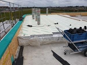Oogcentrum in Heerhugowaard  volledig isolatie pakket van eps 41 dik