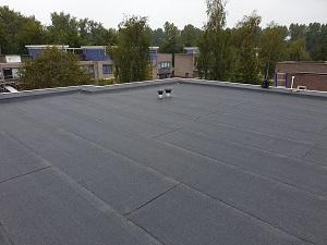 Woonhuis in Lelystad een overlaag klus  met Garantgum 470 k24
