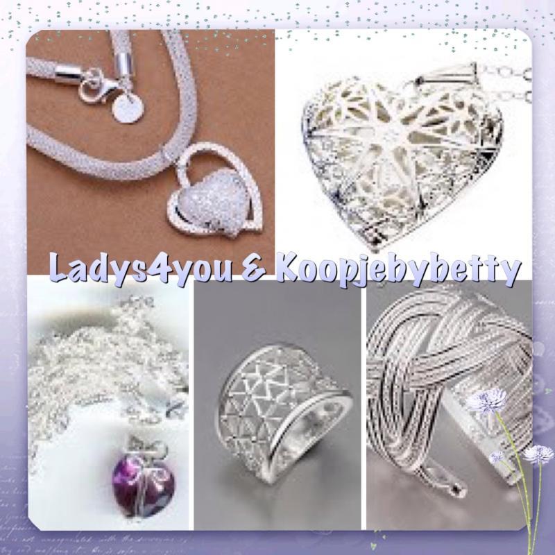 Luxe sieraden , voor een klein prijsje , verbaas je over de prijzen..