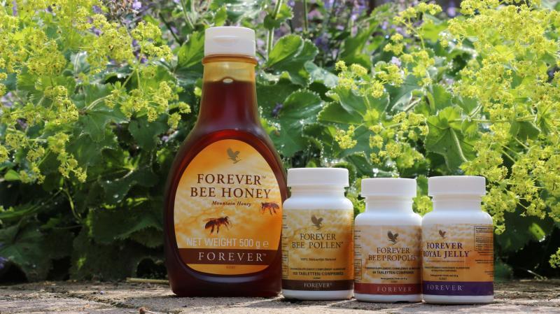 forever is ook marktleider mbt bijenproducten