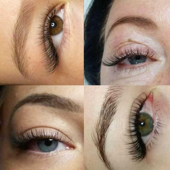 Natural look lahes one - one / 2D lashes