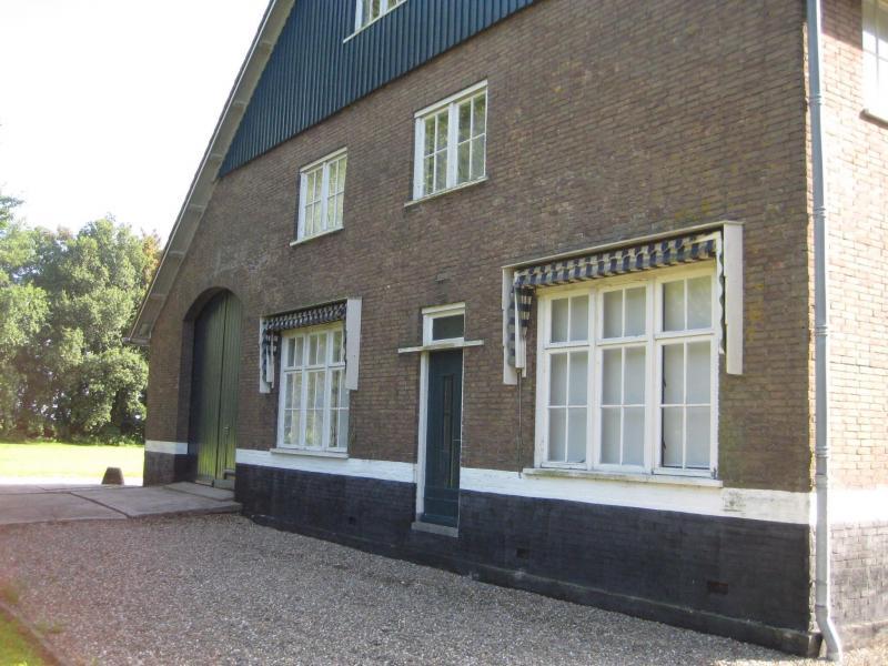 Zijkant- Woonhuis/ Side