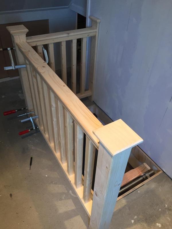 Op maat gemaakt traphek