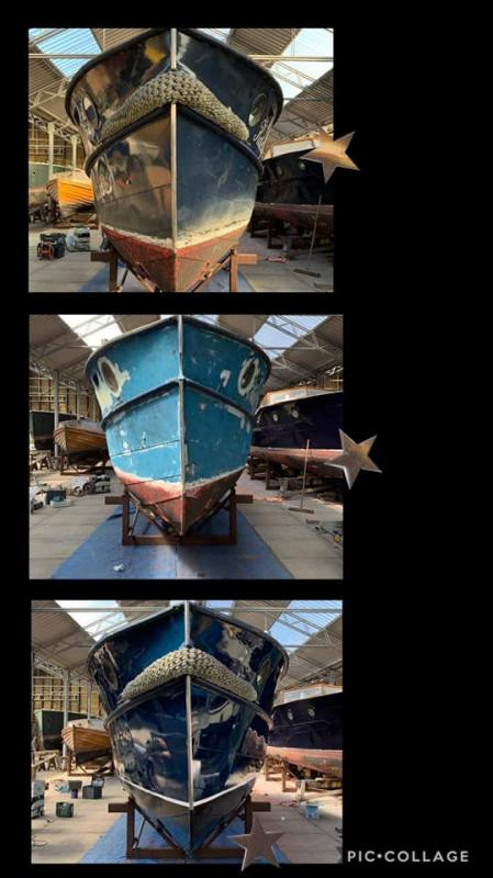 Schilderwerk van Boot Jachtgaven Warmond