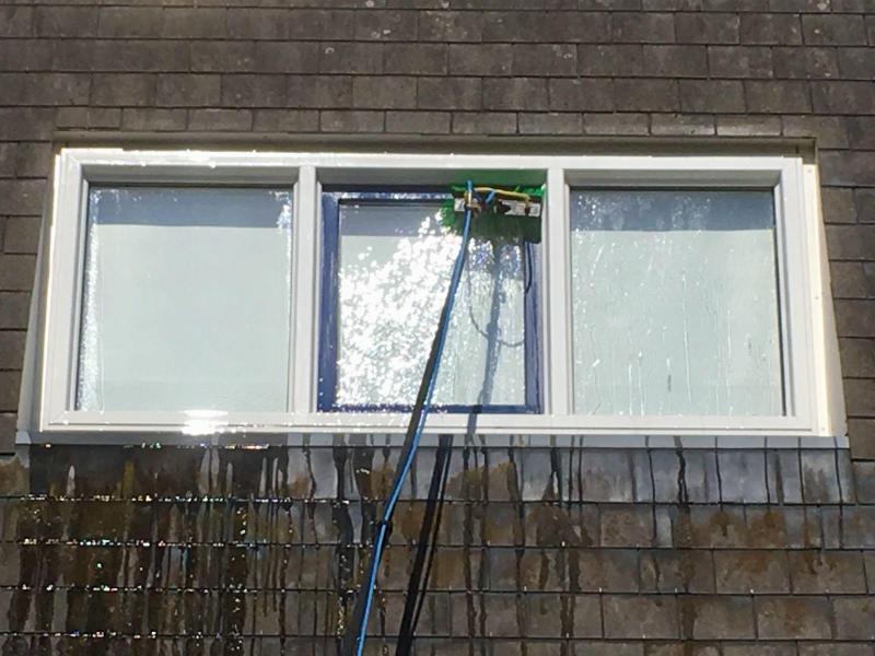 Glasbewassing inclusief kozijnen