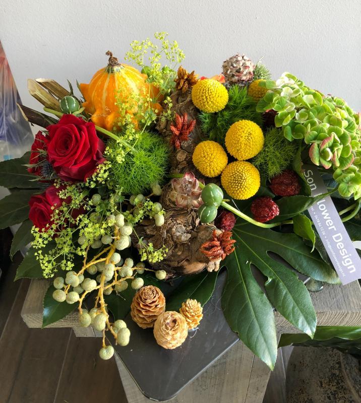 Herfst bloemstuk