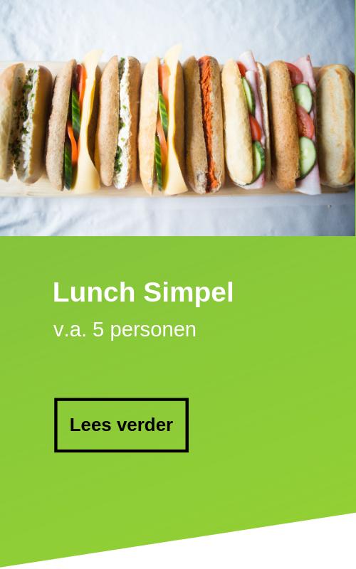 Lunch bestellen simpel broodjes