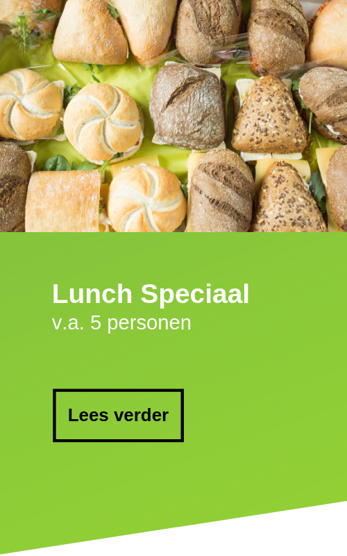 Lunch bestellen in zaandam