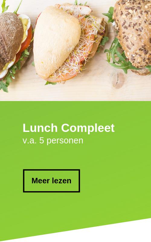 Complete lunch in zaandam bestellen