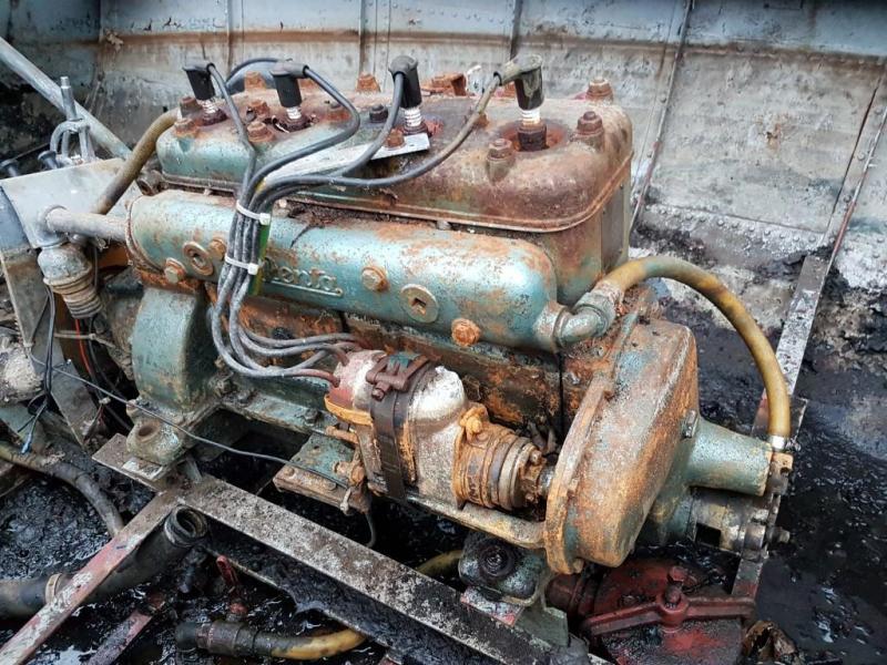 Oude of antieke motoren reviseren