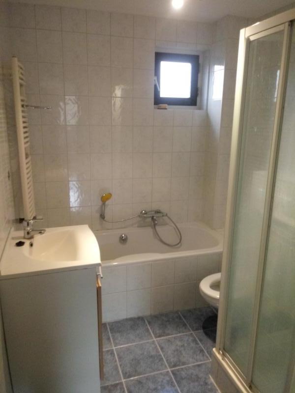 van de oude badkamer