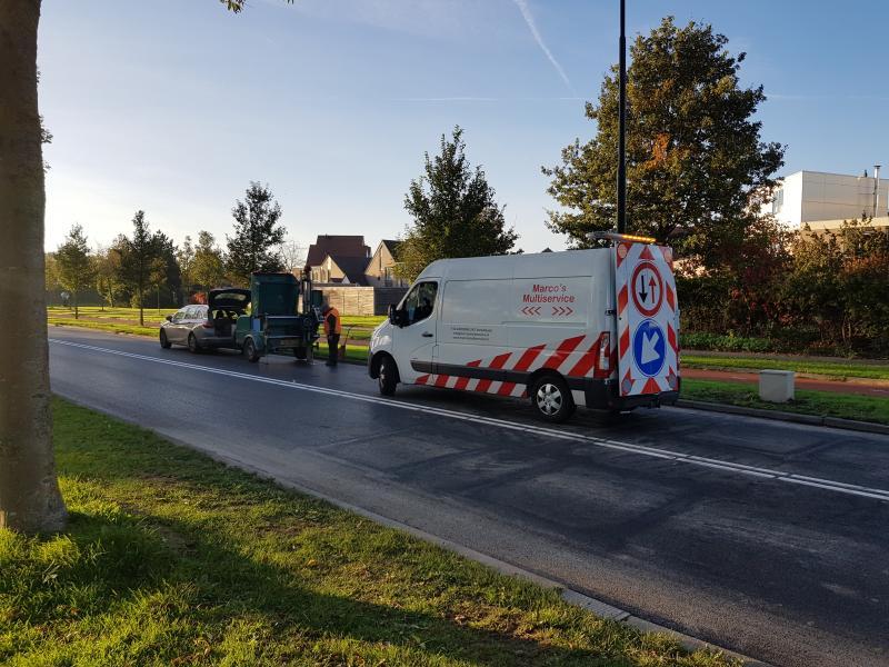 even assisteren bij boorkernen asfalt