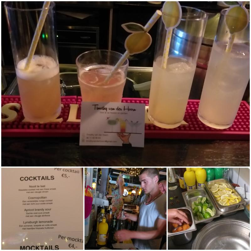 30 juni 2019 - Na afloop cocktails en een buffet met tapashapjes
