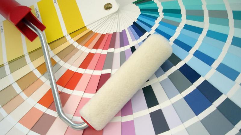 Uit de verschillende kleurenpaletten kunt u een geschikte kleur kiezen voor uw h