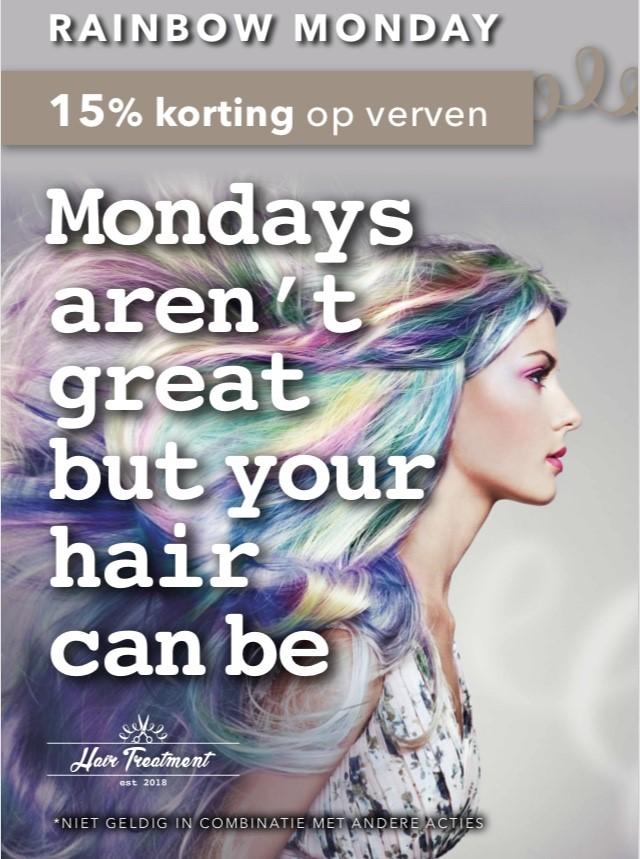 Elke maandag 15% korting op verven (1 kleur )