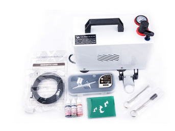 € 99,00 Airbrush Set Fengda AS-18BK met compressor AS-18B, Airbrush BD-130