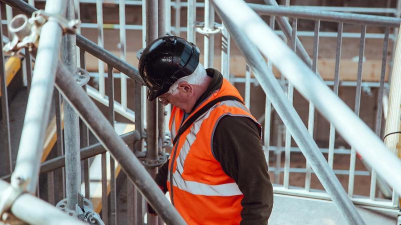 Wij houden een oogje in het zeil tijdens de bouw.