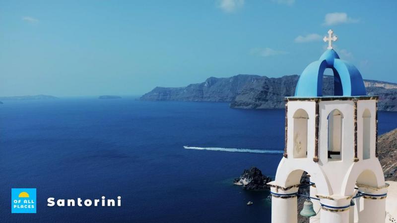 Pittoreske dorpjes vind je op het indrukwekkende Griekse eiland Santorini.