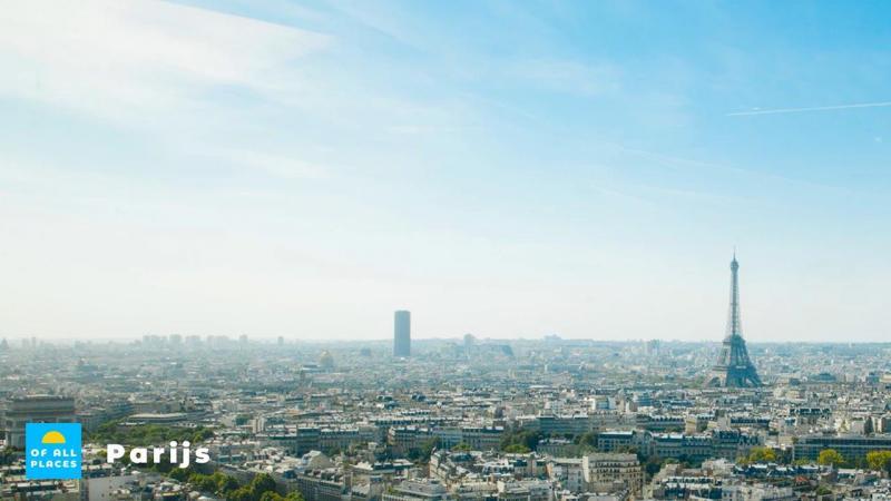 Beklim de Eiffeltoren in Parijs en geniet van uitzicht op de stad.