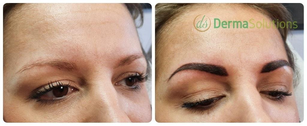 Dark powderbrows donkere powder brows