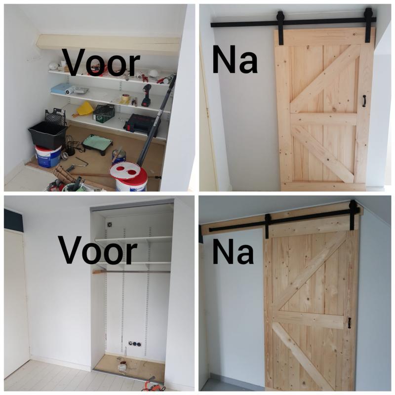 Op maat gemaakte Loftdeuren