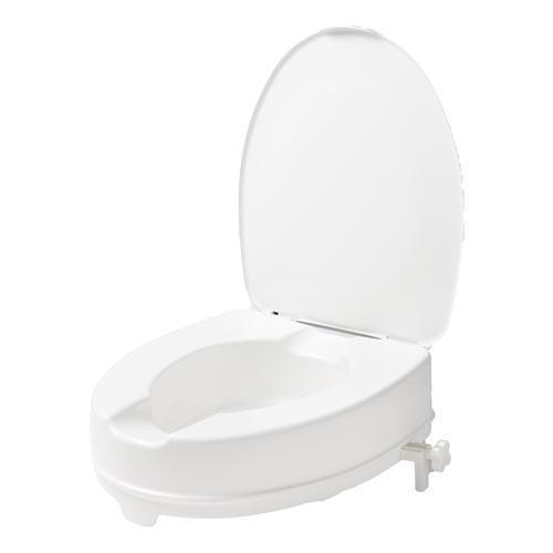 toiletverhoger om makkelijker af te stappen in diverse maten te verkrijgen..