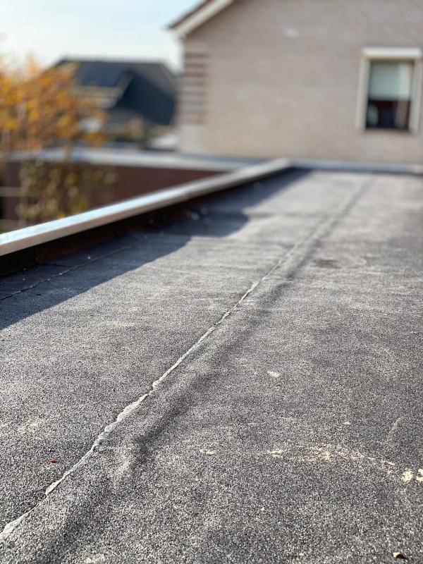 Bitumen dakbedekking, Poederooijen